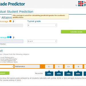 Grade Predictor - Summer 2016 update - Now Live - Our Special Offer has been extended!